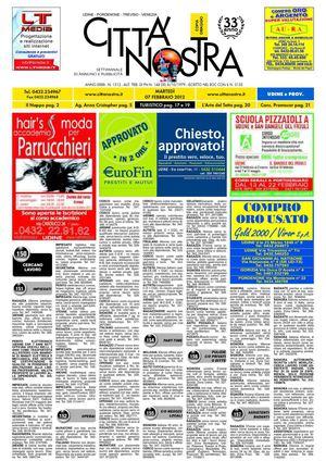 Calaméo - Città Nostra Udine del 07.02.2012 n. 1312 b05a9946fee