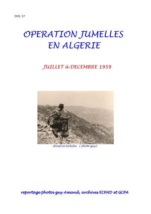 27-OPERATION JUMELLES REPORTAGE
