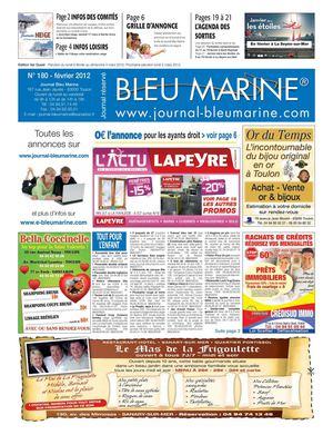 Calaméo Journal Bleu Marine N180 Février 2012