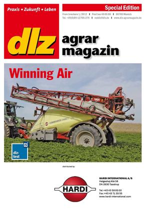"DLZ agrar magazin ""Winning Air"" - Jan. 2012"