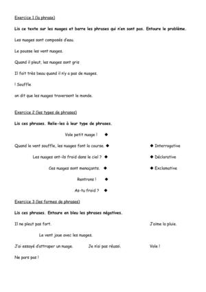 Calaméo - Cycle 2 : grammaire : types de phrases ...