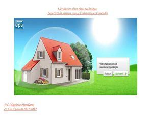 calam o s curiser sa maison contre l 39 incendie et l 39 intrusion. Black Bedroom Furniture Sets. Home Design Ideas