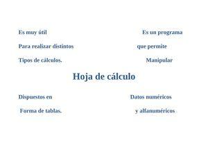 Calaméo - Mapa mental de la hoja de calculo