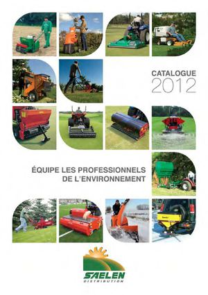 CATALOGUE SAELEN DISTRIBUTION 2012