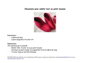 patchcath - Chaussons-rouges-adultes