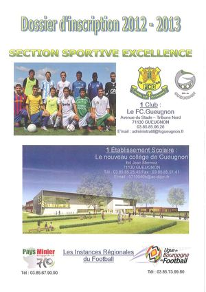 Section sportive Foot