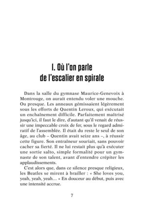 Spiral, collection Rageot Thriller, en librairie le  7 mars 2012