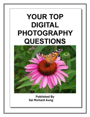 Your Top Digital Photography Questions