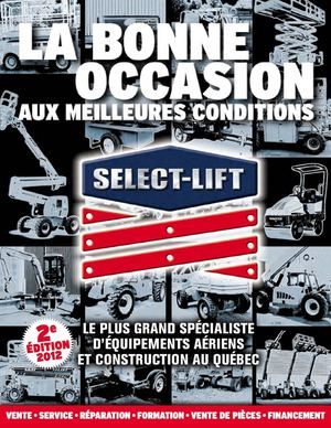 Catalogue La Bonne Occasion Select-Lift 2e édition