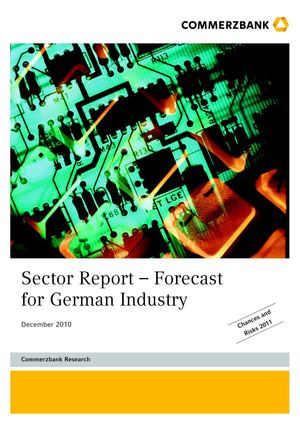 Commerzbank | Sector Report – Forecast for German Industry Dec 2010
