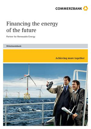 Commerzbank | Financing the energy of the future
