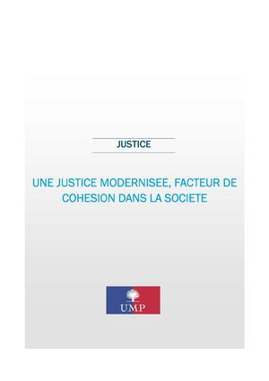 Propositions Justice 2012