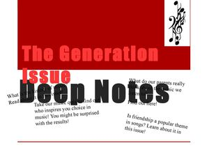 Deep Notes Issue