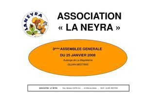 DOC.SUPPORT AG La Neyra 2008