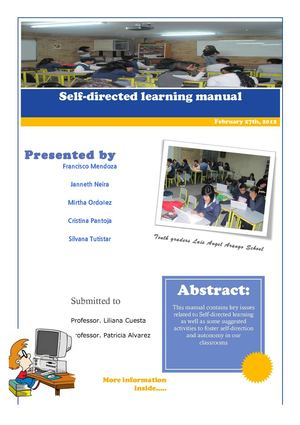 Self directed learning manual
