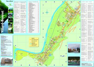 Villard-Bonnot - Plan de ville