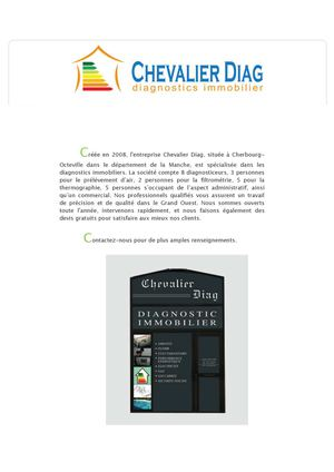 Chevalier Diag - Diagnostic immobilier Grand Ouest