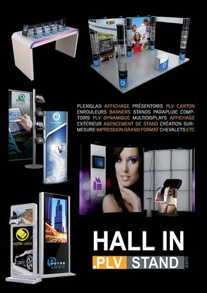 Catalogue Stand PLV hall-in