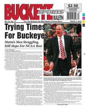 Buckeye Sports Bulletin March 03, 2012