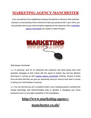 marketing-agency-manchester - Advice