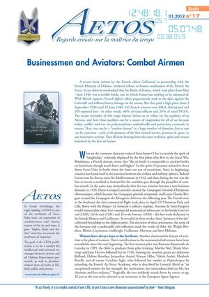 Aetos Weekly 17 - Businessmen and Aviators: Combat Airmen