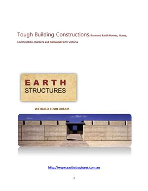 Dream Builder Earth Structures