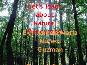 Natural Resources Virtual Boklet Angela Maria Nuñez 5-B