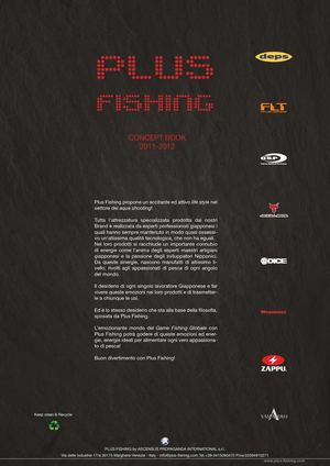 Plus Fishing Concept Book 2011-2012