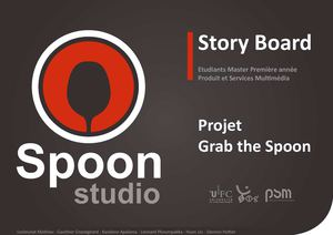 Story board - Grab the Spoon