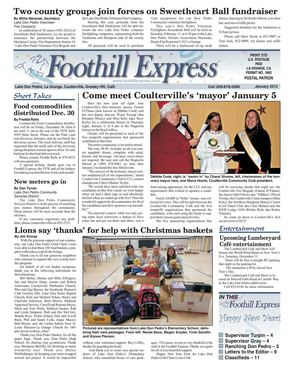 Foothill Express - January 2012