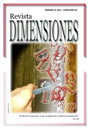 REVISTA DIMENSIONES; 2D