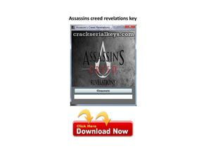 Assassin's Creed Revelations Keygen