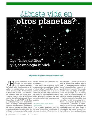 REVISTA ADVENTISTA: MARZO