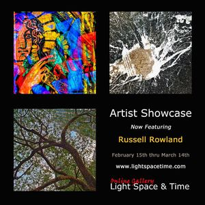 Artist Showcase - Russell Rowland - Event Postcard