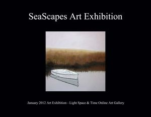 SeaScapes Art Exhibition - Event Postcard