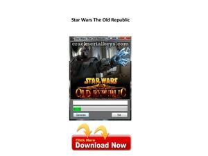 star wars the old republic key generator hq