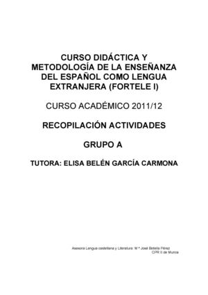 Calaméo - ACTIVIDADES FORTELE I