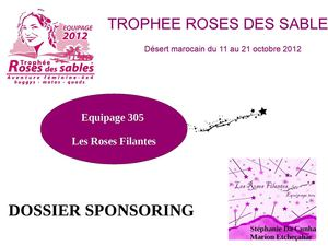 calam o dossier de sponsoring troph e roses des sables. Black Bedroom Furniture Sets. Home Design Ideas