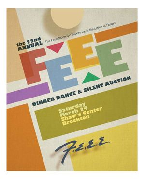 2012 FEEE Dinner Dance and Silent Auction program book