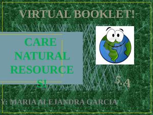 natural resources oral presentation
