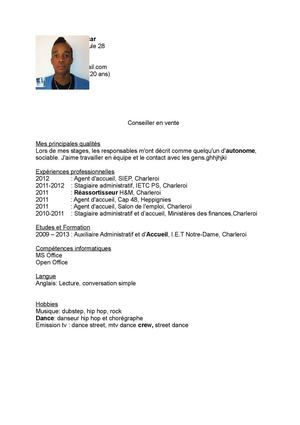 Calaméo Cv Auxiliaire Administratif Et D Accueil