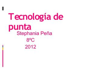 Stephania Peña PAWER POINT