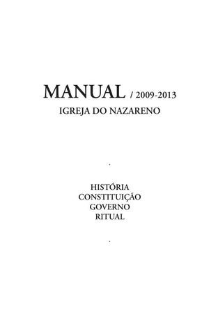 Manual Nazareno 2009 a 2013