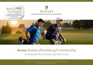 Macdonald Portal - Access Golf Membership Brochure