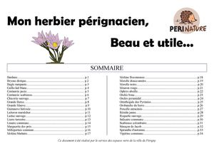 L'herbier Périnature