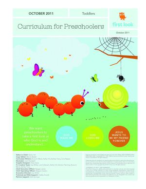 Curriculum for Preschoolers - Toddlers