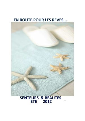 CATALOGUE ÉTÉ 2012