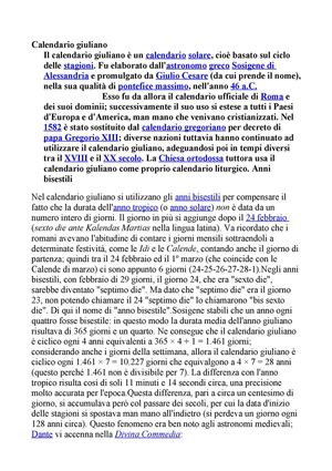Differenza Tra Calendario Giuliano E Gregoriano.Calameo Calendario Giuliano