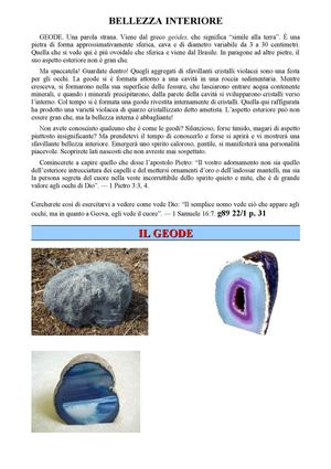 "Bellezza interiore""GEODE"""