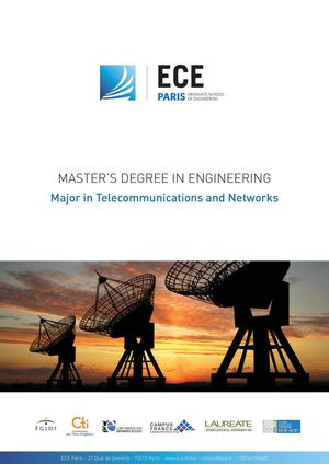Master's Degree in Telecommunications and Networks - ECE Paris